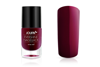 Jolifin EverShine Nagellack wine red 9ml