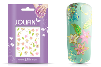 Jolifin Golden Glam Sticker 11