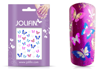 Jolifin Silver Glam Sticker 13