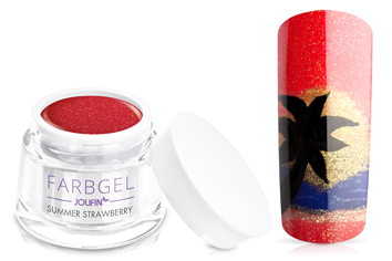 Jolifin Farbgel summer strawberry 5ml