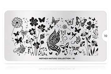 MoYou-London Schablone Mother Nature Collection 10