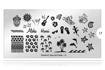 MoYou-London Schablone Tourist Collection 17