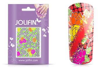 Jolifin Neon Sticker 32