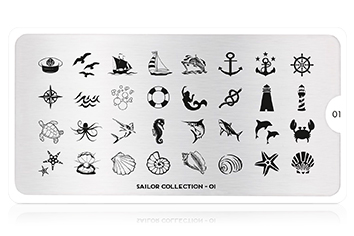 MoYou-London Schablone Sailor Collection 01