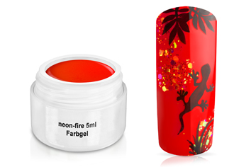 Farbgel neon-fire 5ml