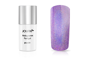 Jolifin Hologramm Quick-Farbgel purple 11ml
