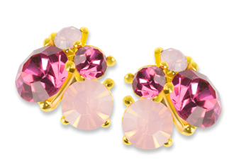 Jolifin Overlay Diamond pink