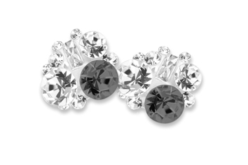 Jolifin Overlay Diamond silver-black