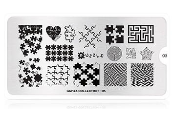 MoYou-London Schablone Games Collection 05