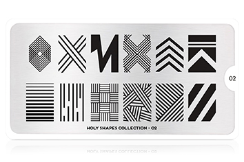 MoYou-London Schablone Holy Shapes Collection 02