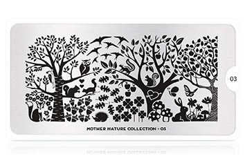 MoYou-London Schablone Mother Nature Collection 03