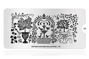MoYou-London Schablone Mother Nature Collection 05