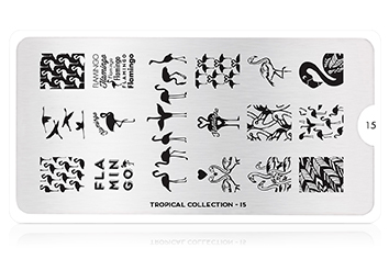 MoYou-London Schablone Tropical Collection 15
