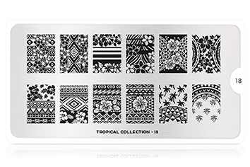 MoYou-London Schablone Tropical Collection 18