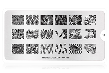 MoYou-London Schablone Tropical Collection 19