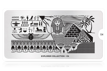 MoYou-London Schablone Explorer Collection 04