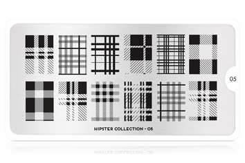 MoYou-London Schablone Hipster Collection 05