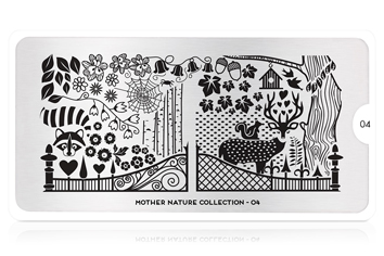 MoYou-London Schablone Mother Nature Collection 04