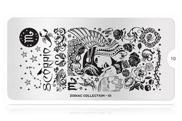 MoYou-London Schablone Zodiac Collection 10