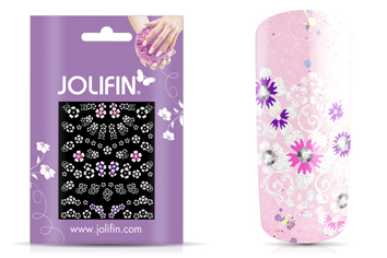 Jolifin Nailart Wedding Sticker Nr. 38