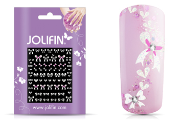 Jolifin Nailart Wedding Sticker Nr. 39