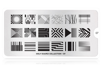 MoYou-London Schablone Holy Shapes Collection 07