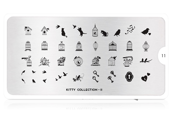 MoYou-London Schablone Kitty Collection 11
