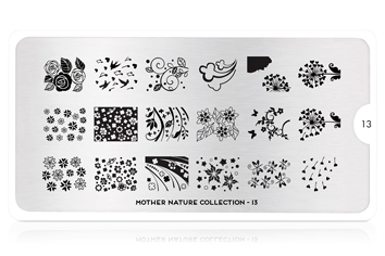 MoYou-London Schablone Mother Nature Collection 13