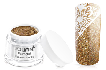 Jolifin Farbgel elegance bronze 5ml