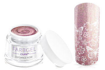 Jolifin Farbgel elegance rose 5ml