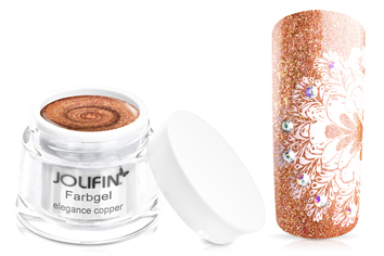 Jolifin Farbgel elegance copper 5ml