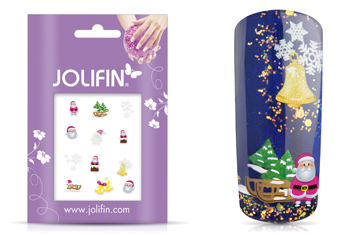 Jolifin Christmas Glitter Tattoo 21
