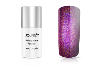 Jolifin Carbon Hologramm Quick-Farbgel deep purple 11 ml