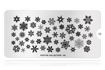 MoYou-London Schablone Festive Collection 02