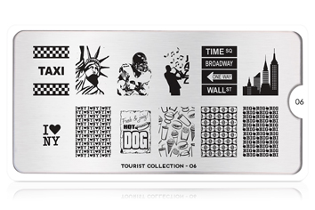 MoYou-London Schablone Tourist Collection 06