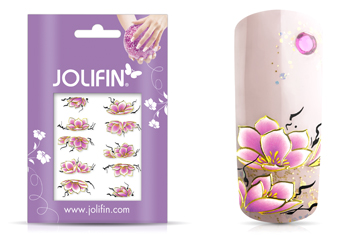 Jolifin Airbrush Tattoo Gold Nr. 1