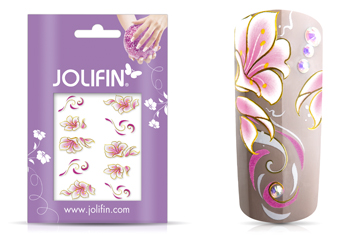 Jolifin Airbrush Tattoo Gold Nr. 2
