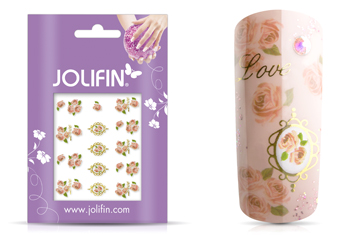 Jolifin Airbrush Tattoo Gold Nr. 4