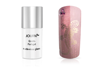 Jolifin Carbon Quick-Farbgel nude-rose glam 11ml