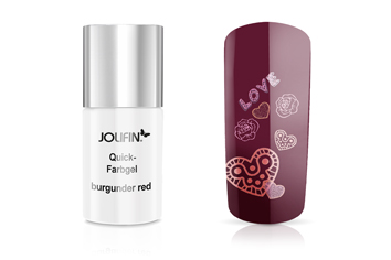 Jolifin Quick-Farbgel burgunder red 11ml