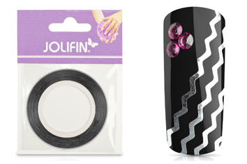 Jolifin Pinstripes Wave silber
