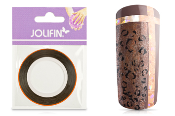 Jolifin Pinstripes hologramm kupfer - 2mm