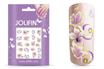 Jolifin Airbrush Tattoo Gold 6