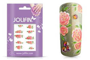 Jolifin Airbrush Tattoo Gold 7