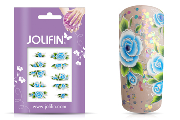 Jolifin Airbrush Tattoo Silber 5