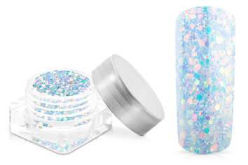 Jolifin Nightshine Illusion Glitter - blue