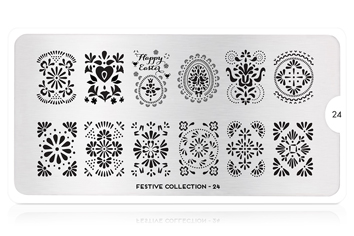 MoYou-London Schablone Festive Collection 24