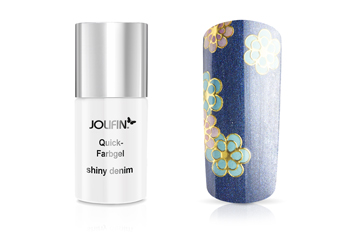 Jolifin Carbon Quick-Farbgel shiny denim 11ml