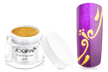 Jolifin Painting-Gel gold 5ml