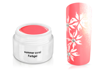 Farbgel summer coral 5ml